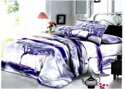 Eleganza Collection Cotton Printed Double Bedsheet