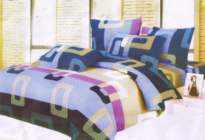 Angel Homes Cotton Printed Double Bedsheet