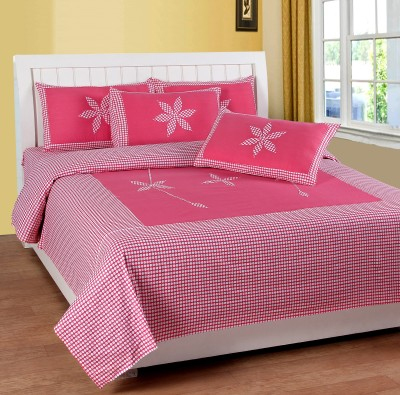 Royal Collection Cotton Abstract Double Bedsheet