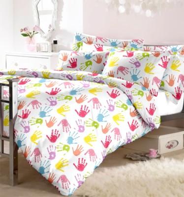 Aaditya Shoprite Cotton Abstract Double Bedsheet