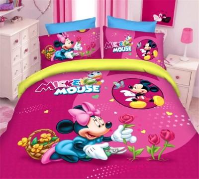 Renown Cotton Cartoon Double Bedsheet