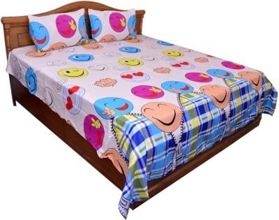 GraceDiva Polycotton Cartoon Double Bedsheet