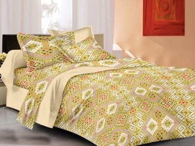 Gopani Dispatchers Cotton Checkered Double Bedsheet