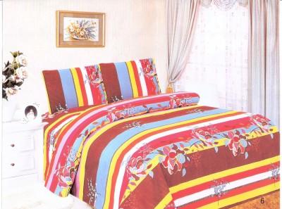 Leocapult Polyester Floral Double Bedsheet