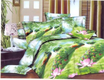 Maharaja Craft Cotton Animal Double Bedsheet