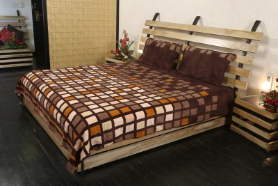 Adinath Polyester Printed Single Bedsheet
