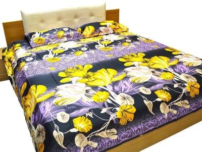 Flemingo Cotton Floral King sized Double Bedsheet