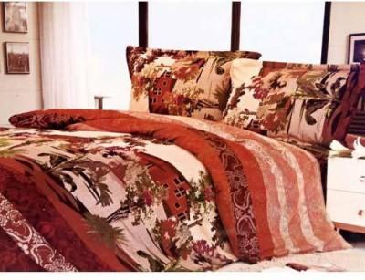 Tulaasi Cotton Printed Double Bedsheet