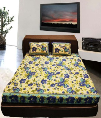 Mable Cotton Abstract Queen sized Double Bedsheet