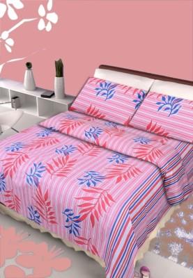 Polycotton Floral Double Bedsheet