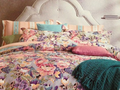Tima Cotton Printed Double Bedsheet
