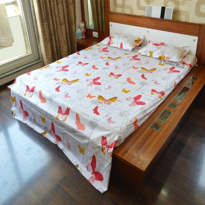 Indian Rack Cotton Printed King sized Double Bedsheet