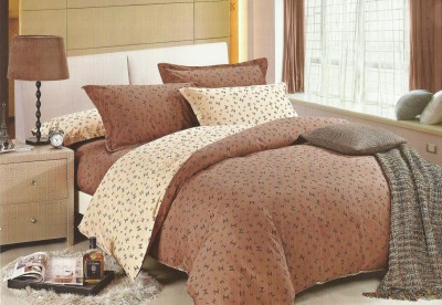 jorden Cotton Printed King sized Double Bedsheet