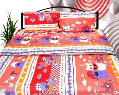 Cosmosgalaxy Cotton Cartoon Double Bedsheet