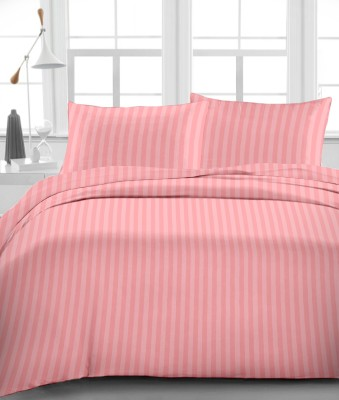 Urbano Homz Cotton Striped King sized Double Bedsheet