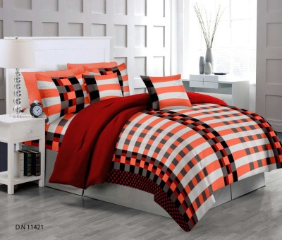 Softon Cotton Printed King sized Double Bedsheet