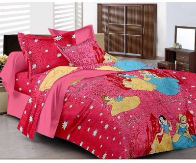 Katarias Cotton, Satin Abstract Single Bedsheet