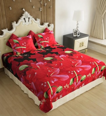 Home Candy Polycotton Printed Double Bedsheet