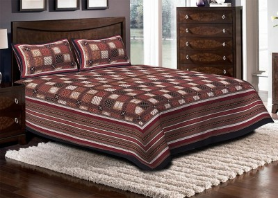 Renown Cotton Checkered Double Bedsheet