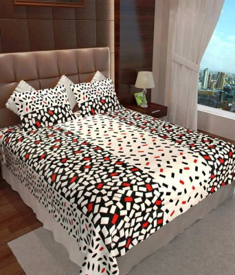 Fresh From Loom Cotton Checkered Double Bedsheet
