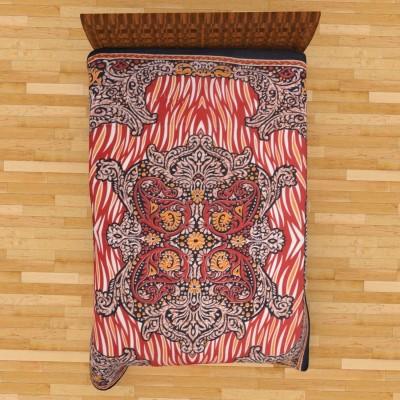 Narsinh Cotton Printed Single Bedsheet