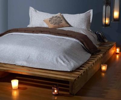 Stoa Paris Cotton Floral King sized Double Bedsheet