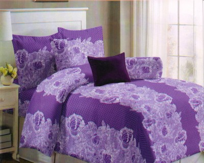 Magrace Cotton Printed King sized Double Bedsheet