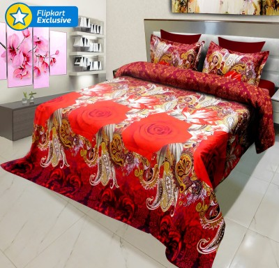 Signature Polycotton, Polyester Floral Bedsheet