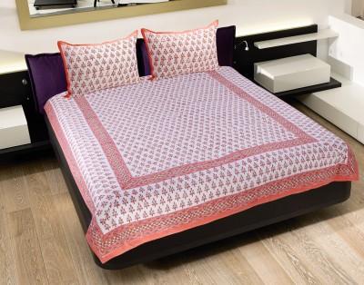 Pratha Cotton Printed Double Bedsheet