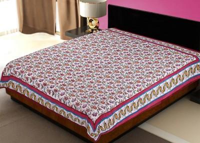 Rawaaz Cotton Floral Queen sized Double Bedsheet