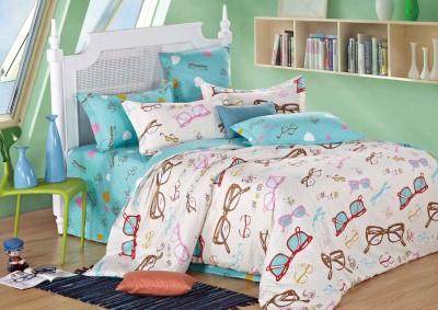 Portia Polycotton Abstract Double Bedsheet