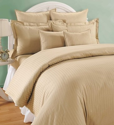 Indian Rack Cotton Striped King sized Double Bedsheet