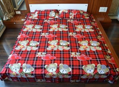 Indian Rack Cotton Printed Double Bedsheet