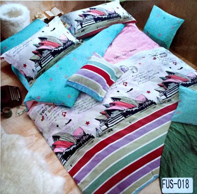 Bellagio Cotton Printed King sized Double Bedsheet