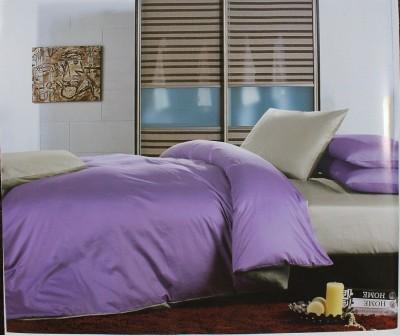 ROSS Cotton Plain King sized Double Bedsheet