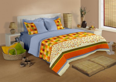 Raymond Home Cotton Abstract Double Bedsheet