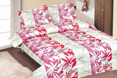 Roohi Cotton Abstract Double Bedsheet