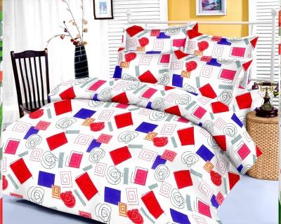 Factorywala Cotton Checkered Single Bedsheet
