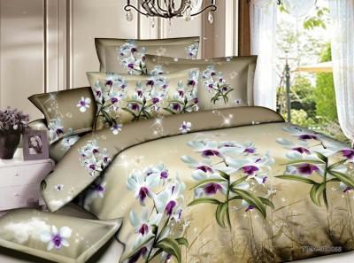 Dream Weaverz Cotton Floral Double Bedsheet