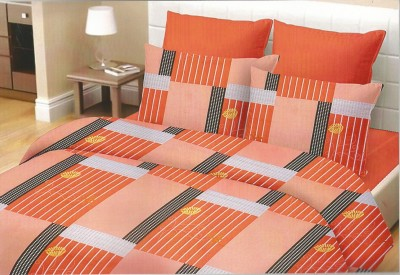 Phunk Cotton Printed Double Bedsheet