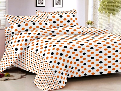 S4S Cotton Polka Double Bedsheet