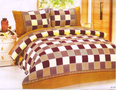 Canadian Icon Cotton Checkered Double Bedsheet