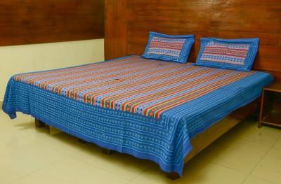 Goutam Print Cotton Printed Double Bedsheet