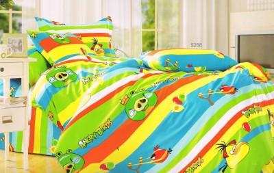 Shopgalore Cotton Cartoon Double Bedsheet