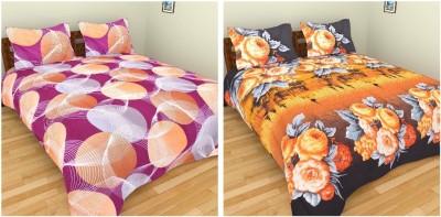 Krishnam Polycotton Printed Double Bedsheet