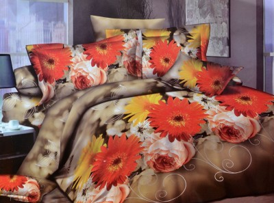 Onze Polycotton Printed Double Bedsheet