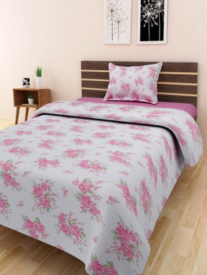 Swastika Cotton Printed Single Bedsheet