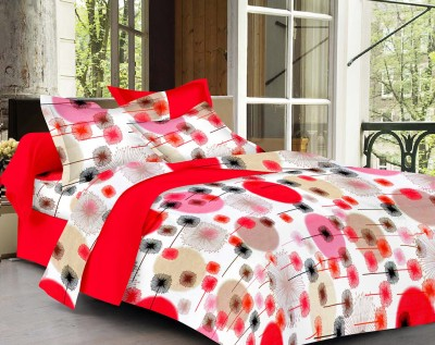 Vaani Cotton Floral Queen sized Double Bedsheet