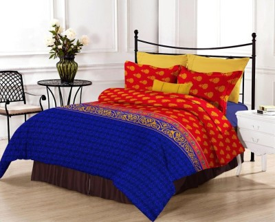 Renown Cotton Floral King sized Double Bedsheet