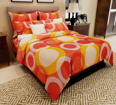 Home Candy Cotton Printed Double Bedsheet